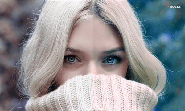 Free Winter Blues Photo Effect Actions