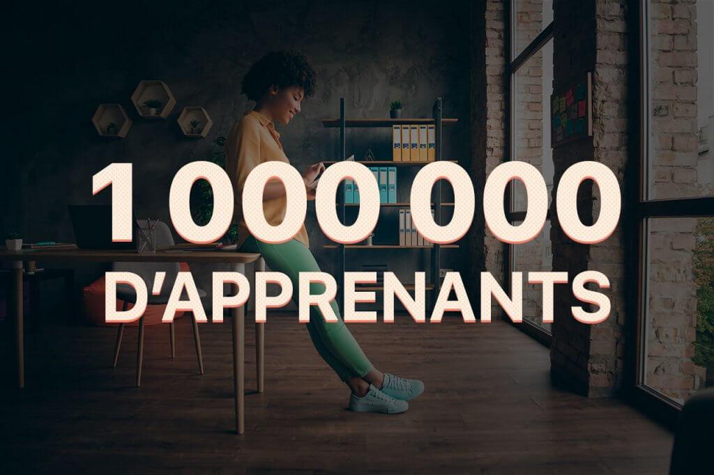 Tuto.com 1 000 000 d'apprenants