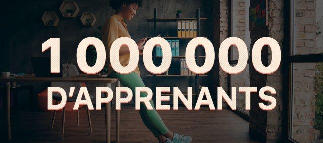 Le million d'apprenants