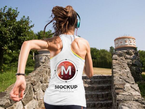 Mockup tee-shirt
