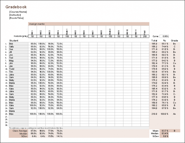 Excel - feuille de calcul