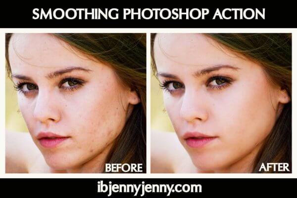 Scripts photoshop - peau parfaite