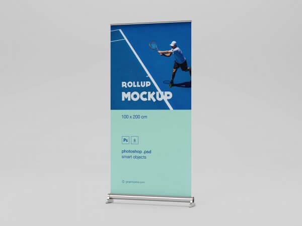 Mockup roll up moderne