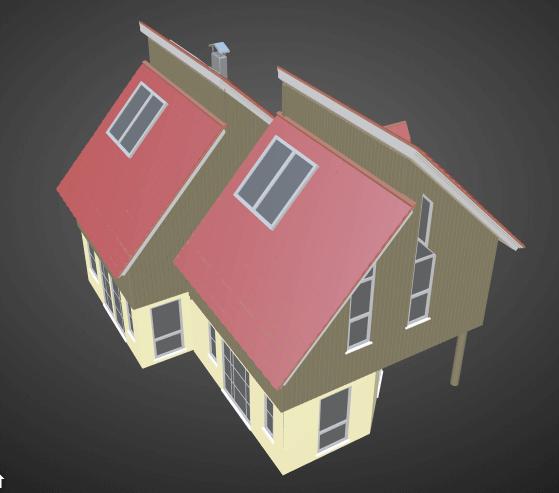 2 floor house