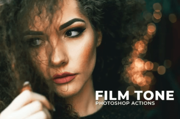 3 Free Film Tone Photoshop Actions