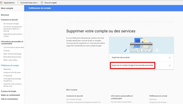 Supprimer Un Compte Gmail Les Etapes A Suivre Pour Y Parvenir