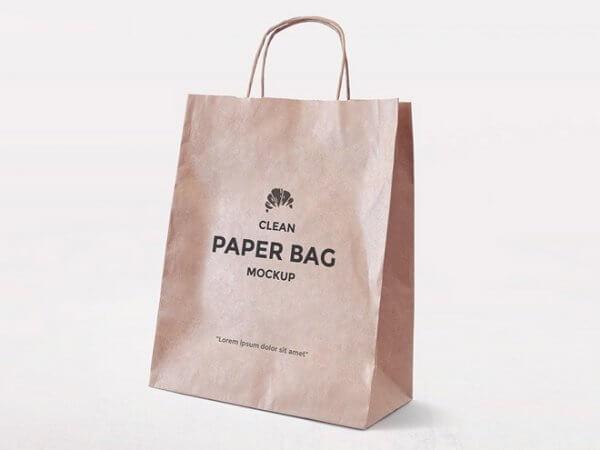 Mockup sac en papier