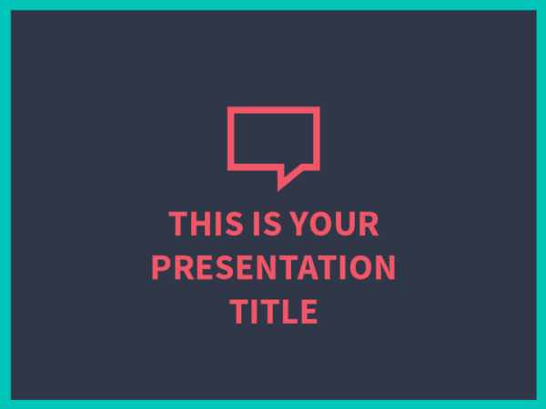 Bold powerpoint