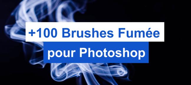 Plus de 100 brushes Fumée gratuits pour Photoshop