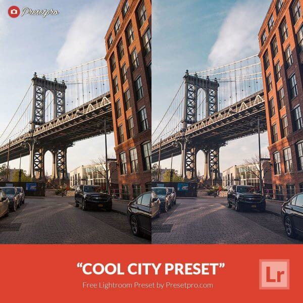 City preset lightroom gratuit