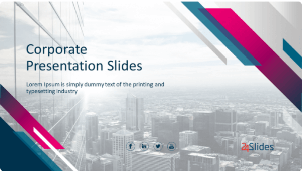 Corporate PowerPoint Template Pack