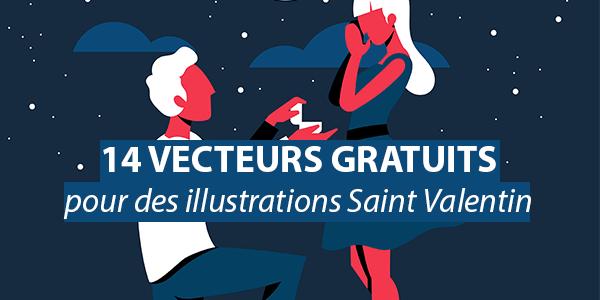 14 ressources gratuites pour vos illustrations de Saint Valentin