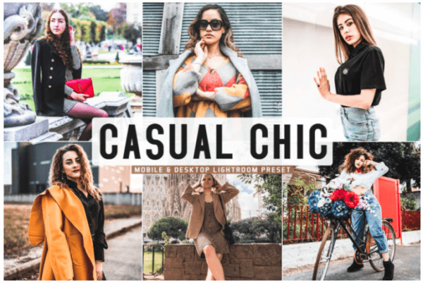 Free Casual Chic Mobile & Desktop