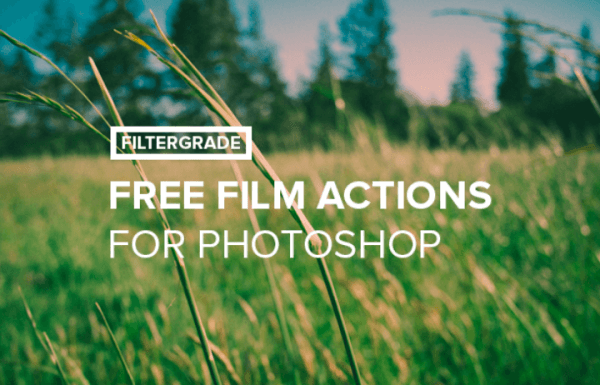 Free Film Photoshop Actions Pack