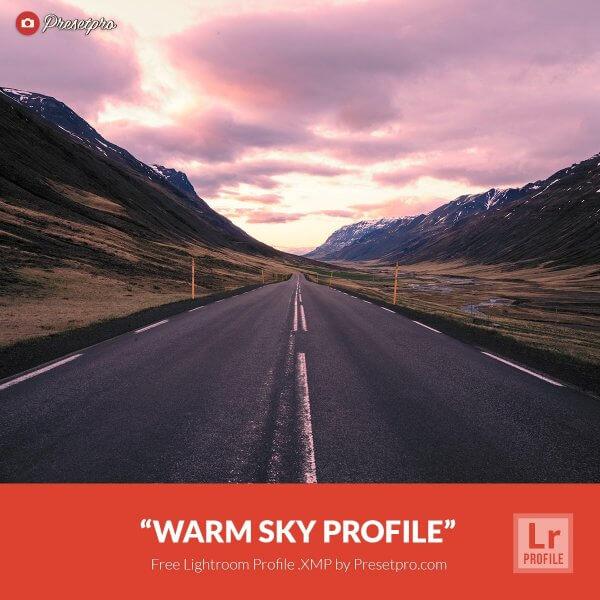 Warm sky Profile