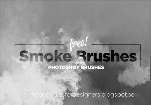 Hi res smoke brushes