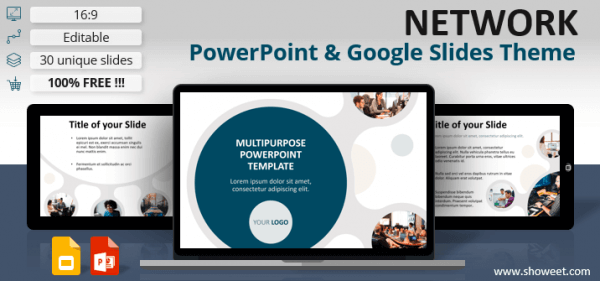 NETWORK – Modern Template for PowerPoint