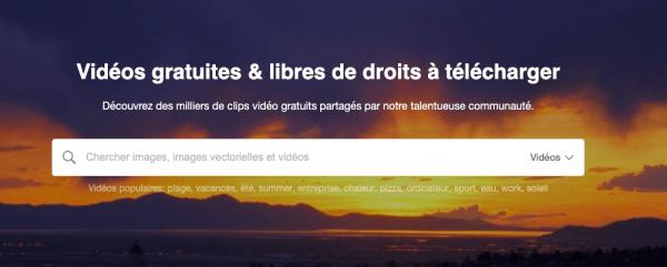 12 Plateformes Pour Trouver Des Vidéos Libres De Droits