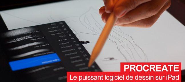Procreate : Le plus puissant logiciel de dessin sur iPad