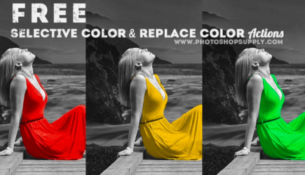 Selective Color Photoshop Action