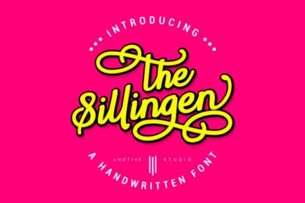 Sillingen | Handwritten Font