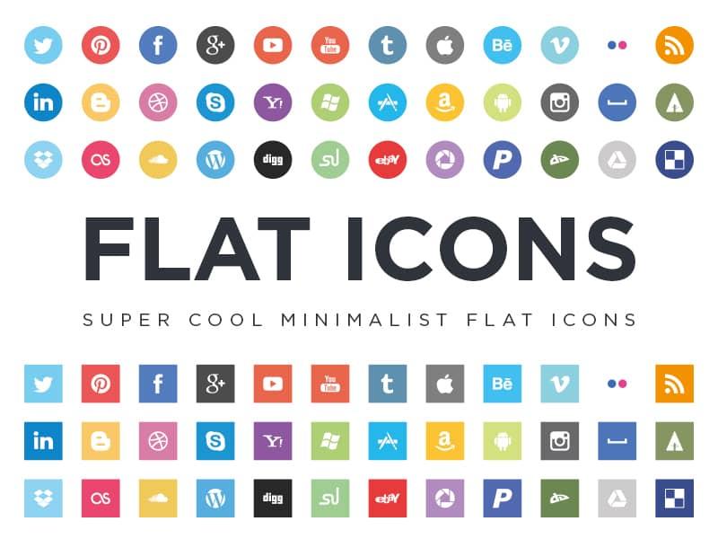 21 packs d u0026 39 ic u00f4nes flat design gratuits  u00e0 t u00e9l u00e9charger