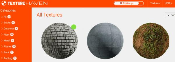 15 sites pour trouver des textures 3d gratuites