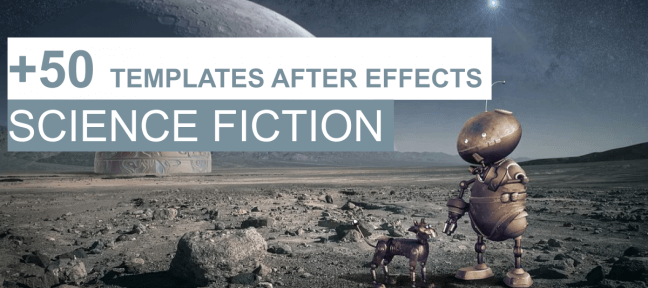 +50 templates After Effects gratuits sur le thème de la Science Fiction