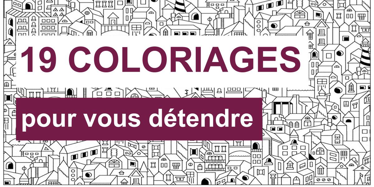 19 Coloriages Gratuits Pour Vous Detendre Blog Tuto Com