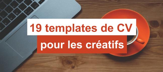 19 templates de CV gratuits et créatifs