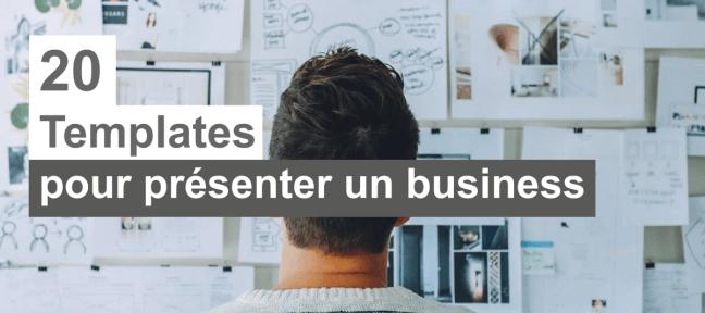 20 templates PowerPoint pour présenter votre business
