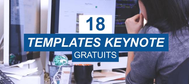 18 templates Keynote gratuits pour des présentations réussies