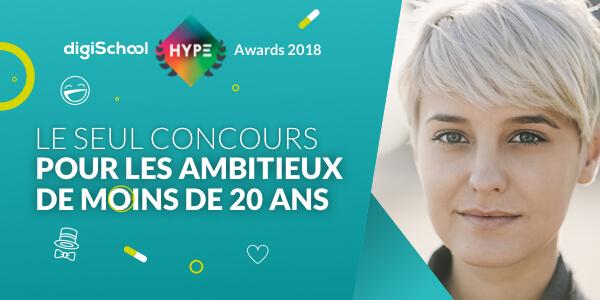 digiSchool lance la 4ème saison des digiSchool HYPE Awards en partenariat avec Tuto.com