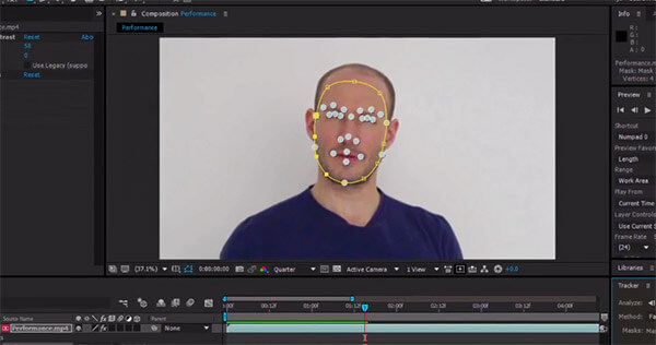 After Effects Face TRacker