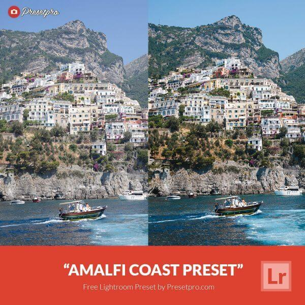 amalfi coast preset