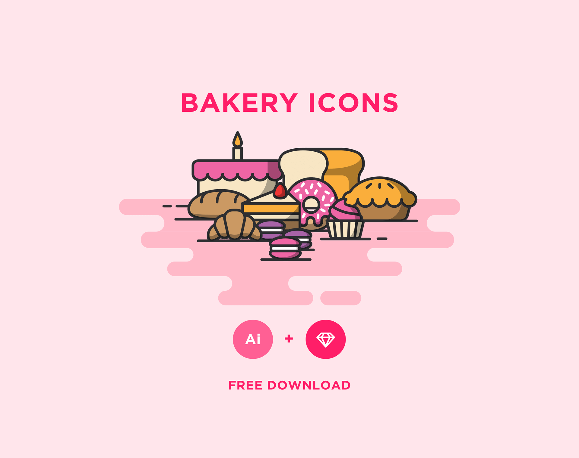bakery-icons