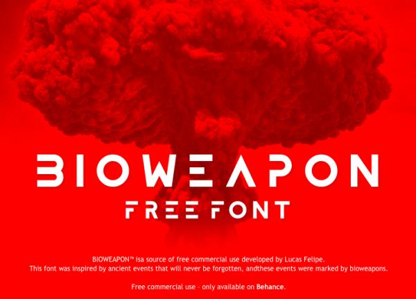 bioweapon font