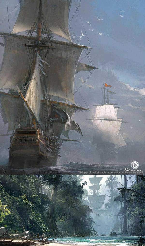Assassin's Creed Black Flag Martin Deschambault
