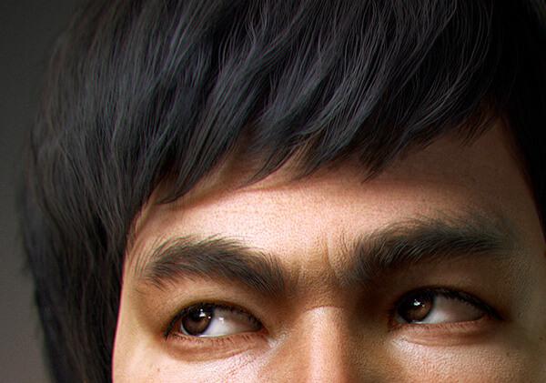 Bruce Lee en 3D