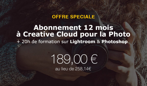 Adobe Creative Cloud pour la Photo