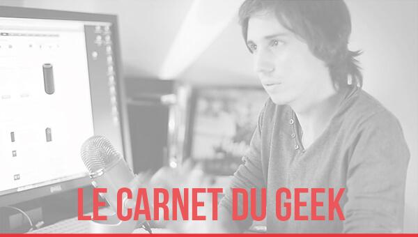Le carnet du geek de Julien Pons