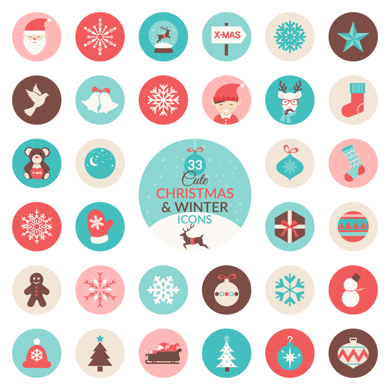 christmas-and-winter-icons-preview