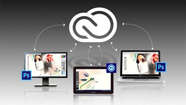 Le partage dans Creative Cloud