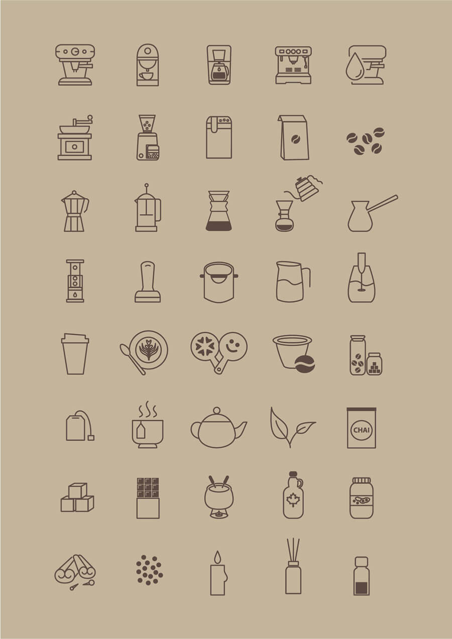 coffee-store-icon-set