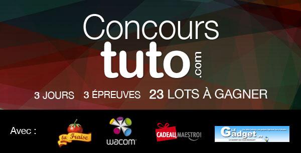 Concours 3 ans Tuto.com