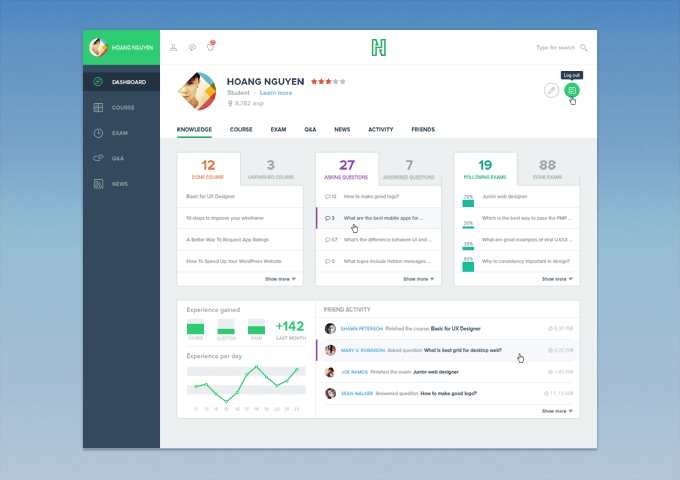 course_dashboard_ui_kit