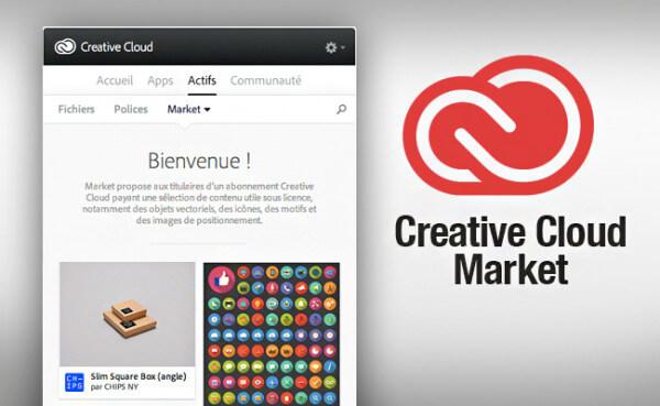 Le Creative Cloud Market par Adobe