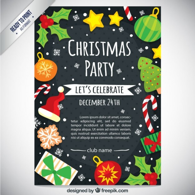 cute-christmas-party-flyer_23-2147524628