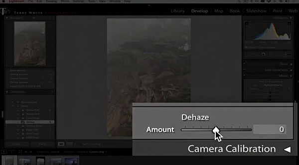 DeHaze le nouvel outil de Lightroom CC
