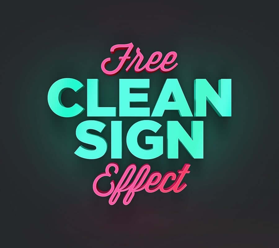effet-texte-clean-sign-effect2